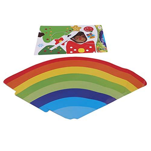 Sevenfly Handgemachte Hut Material Tasche Cartoon Diy Hut Weihnachtsfeier Dekoration Hut (Weihnachtsbaum)