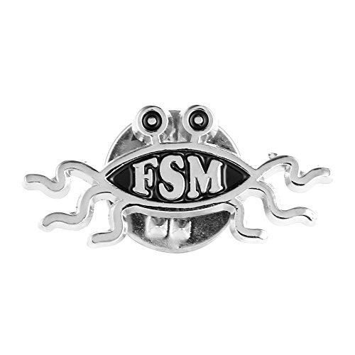 Flying Spaghetti Monster FSM Atheist Buch Hut Jacke Krawatte Tack Revers Pin / Manschettenknöpfe / Krawatte Clip