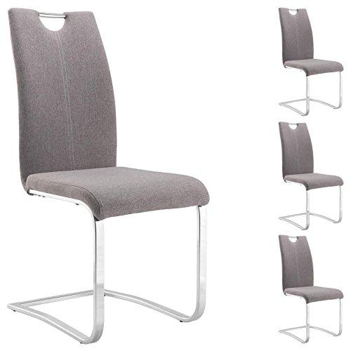 Lll Schwingstuhl Grau Stoff Für Ein Modernes Zuhause Die