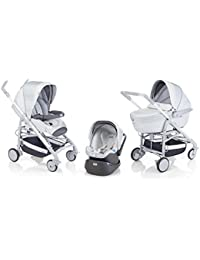 Chicco Trio Travel System Love Fabulous Edition Silver Satin