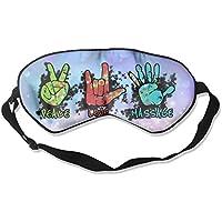 Peace, Love & Massage 99% Eyeshade Blinders Sleeping Eye Patch Eye Mask Blindfold For Travel Insomnia Meditation preisvergleich bei billige-tabletten.eu