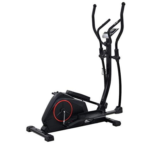 Festnight Crosstrainer Ellittica Fitness Palestra Professionale,Trainer Ellittico XL con Massa Rotante 18 kg