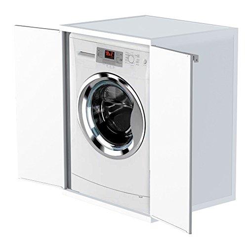 *Divina Home Waschmaschinenschrank aus Kunstharz, für Waschmaschine DH52616*