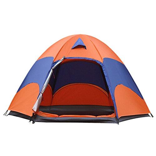 MEI XU Markisentuch Automatisches sechseckiges Zelt im Freien 3-5 Leute, zum des BAUS der Zelte zu...