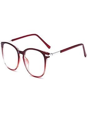 Huicai Gafas bloqueadoras de Blu-ray Vintage Lentes de lentes transparentes Gafas de Blu-ray