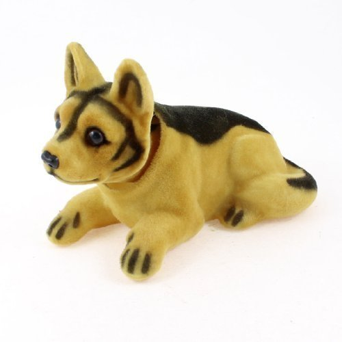 sourcingmap® Auto Car Chihuahua Nod Nodding Bobblehead Dashboard Dogs Decors