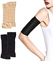 HassanOuld 2 Pairs Slimming Compression Arm Shaper Burn Fat Weight Loss Arm Former Fat Buster Off Cellulite Sl