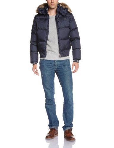Schott nyc - giacca, uomo, blu (navy), s