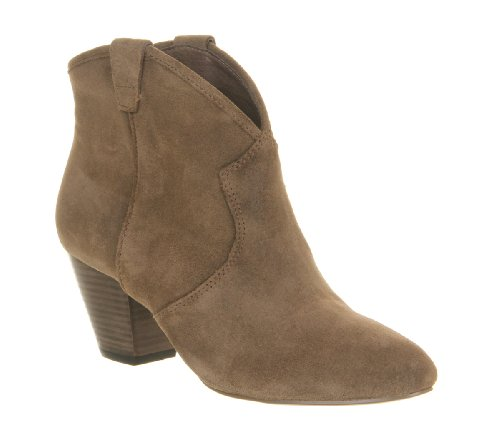Ash Jalouse Boot Topo Suede - 7 UK
