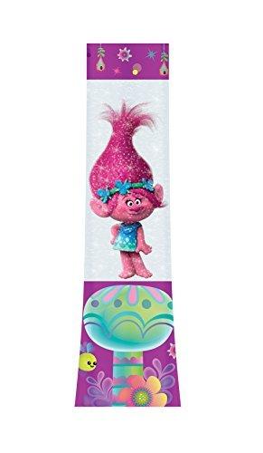 Joy Toy 67682 Trolls Poppy LED Glitter Lamp in Transparent Tubes Packing by Toy Joy