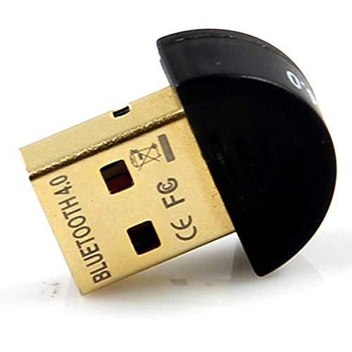 ZXJUAN Kabellose Kontrolle USB 4.0 Bluetooth-Adapter Bluetooth Audioempfänger CSR4.0 Bluetooth-Adapter Unterstützt Win8 / 10 (Größe : Round)