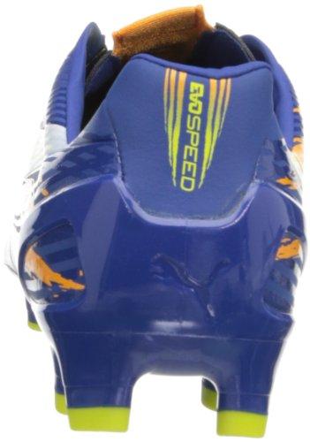 Puma Evospeed 2.2 Firm Graphique Football Taquet Monaco Blue-Sulphur Spring