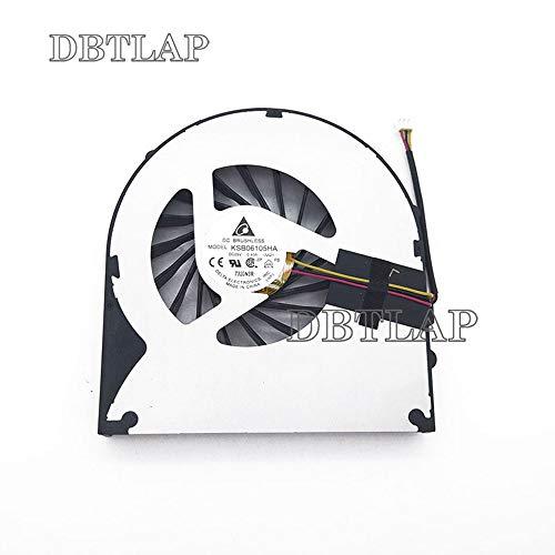 DBTLAP Laptop CPU Lüfter Kompatibel für Acer eMachines G640 G730 G730G G730Z G730ZG KSB06105HA-AA21 CPU Kühlung Lüfter (Cpu Emachines)