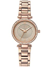 Elle Analog Grey Dial Women's Watch-ELL25014