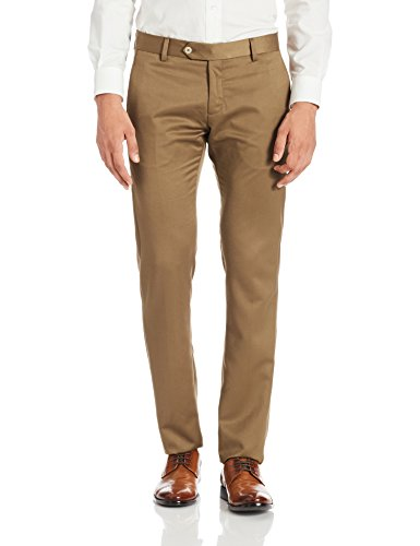 Elitus Men's Formal Trousers (8907242700731_267074367_30_Dark Khakhi)