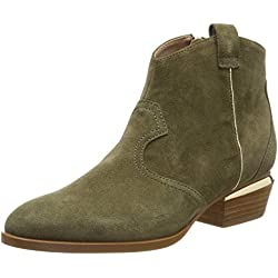 LIU JO Shoes Nives 01-Texan Army Green, Botas Camperas para Mujer, Verde S1302, 40 EU