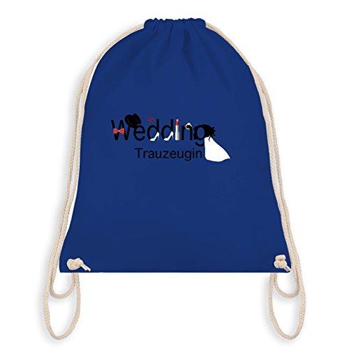 Jga Hen Party - Wedding Maid - Turn Bag I Gym Bag Royal Blue
