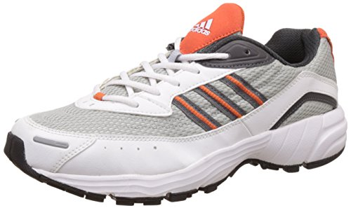 adidas Men's Razor White, Alumin and Graphi Running Shoes - 12 UK/India (47.33 EU)