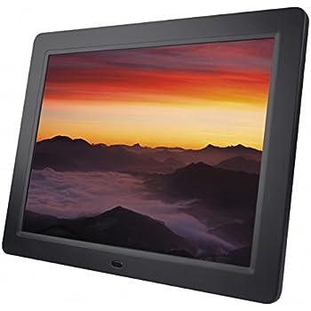 """Braun Digiframe 1580 Cornice Digitale 15"""", Riproduzione Foto-Video-Audio, Risoluzione 1024X768, Rapporto 4:3, Display LCD, Nero"""