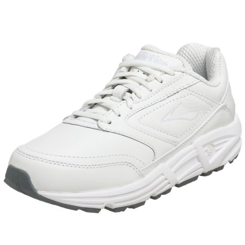 Brooks Women's Addiction Walker Walking Shoe,White,8.5 AA
