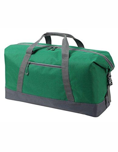 HALFAR® HF8804 Sport / Travel Bag Wing Freizeittaschen Sport- & Reisetaschen Tasche, Farbe:ORANGE green