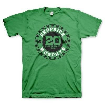 Drop Kick MURPHY - 20th Chip Green T-Shirt, colore: verde verde XX-Large