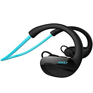 aukey kopfh rer bluetooth 4 1 wireless sport headset. Black Bedroom Furniture Sets. Home Design Ideas