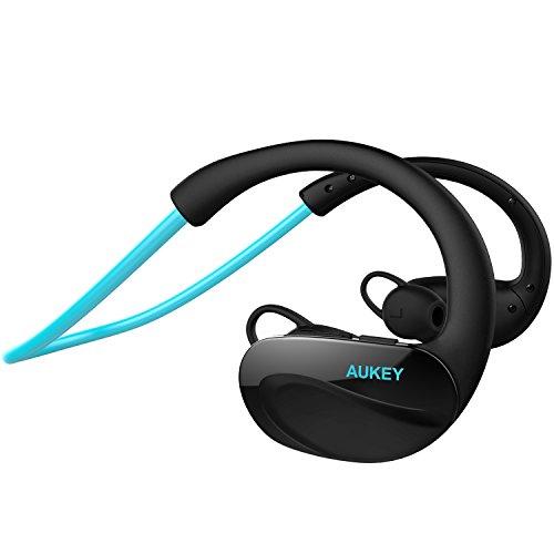 AUKEY Auricular Deportivos Bluetooth 4.1 Auricular Inalámbrico con Mi