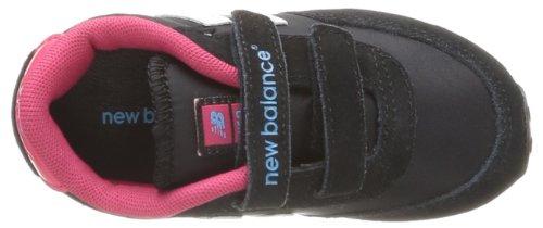 New Balance Ke410 M Mädchen Sneaker Schwarz - Noir (Jet Black/Rasberry)