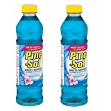 Pine Sol |Multi-Surface Cleaner & Deodorizer | Sparkeling Wave Scent 827 ml (Pack of 2)