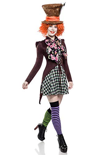 MASK PARADISE Mad Hatter Girl - Hutmacher Girl (2XL)