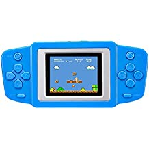 Portable Handheld Video Game Console Rechargable Game Player Built-in 268 Games By Esixc
