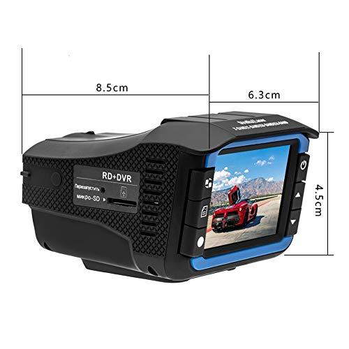 NPNPNP Aufnahmegerät Fahren Englisch Und Russisch 2 In 1 Anti Laser Auto Radar Detektor Dash Cam Car Dvr Camera Recorder 140 Grad Dashcam Hd 720p