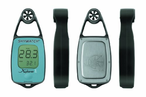 JDC Electronics Skywatch Xplorer 1 - Medidor de Viento, Color Azul