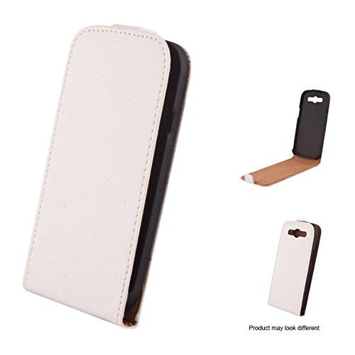 Mobility Gear MG-CASE-KF-AIP5P Etui à rabat slim pour iPhone 5 Rose Blanc