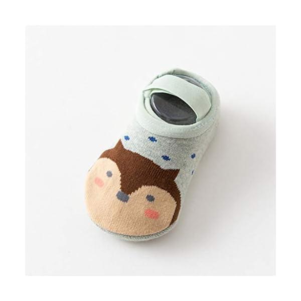 ZOOMY Primavera Otoño Niños Calcetines de Suelo Bebé Niñas Niños Calcetín Antideslizante para Barco 2