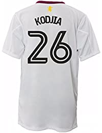 e9fc183531 2016-17 Aston Villa Away Football Soccer T-Shirt Camiseta (Jonathan Kodjia  26