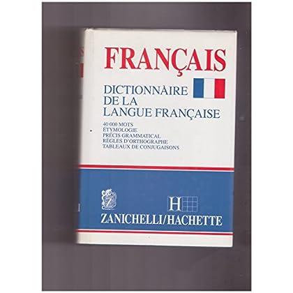 Français. Dictionnaire De La Langue Française