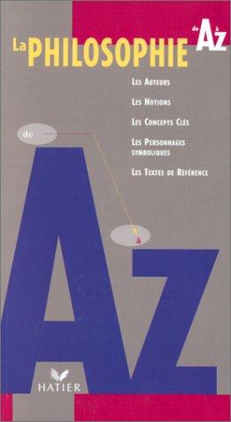 La philosophie de A  Z