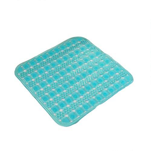 Design antisdrucciolevole a doppio ponte per materassino, cuscino antiscivolo in pvc, tappetino in plastica, cuscino ventosa per il bagno di casa.