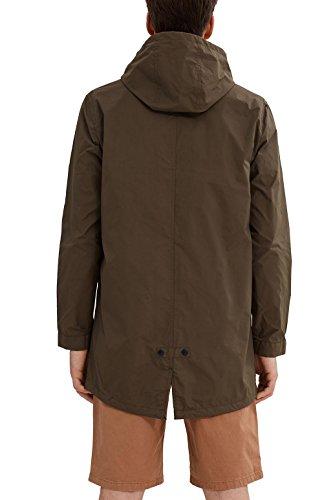 Esprit 037ee2g005, Blouson Homme Vert (Dark Khaki)