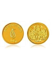 Senco Gold 24k (995) 10 gm Yellow Gold Coin