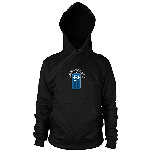 Show You The World - Herren Hooded Sweater, -
