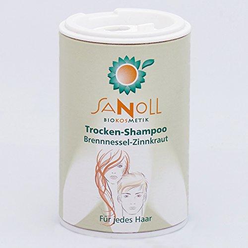 Sanoll Trocken-Shampoo Brennnessel-Zinnkraut 50 g Biokosmetik - Schweizer Kosmetik