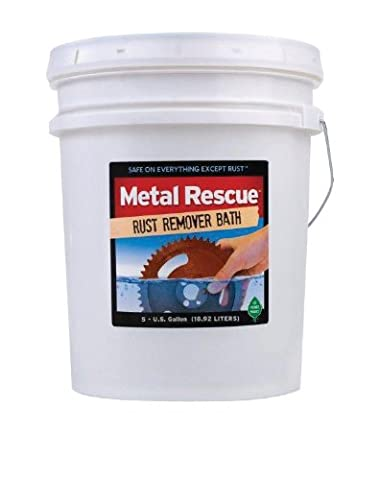 Workshop Hero WH570295 Metal Rescue Rust Remover - 5 Gallon Pail