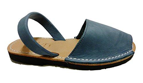 Sandales authentiques minorquines pour les enfants, différentes couleurs. Avarcas menorquínas Tejano nobuck