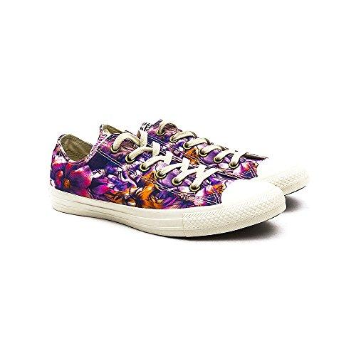 Converse Chuck Taylor All Star Ox, Unisex-Erwachsene Sneaker Lila