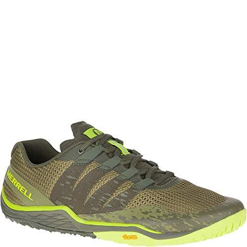 Merrell Trail Glove 5, Zapatillas Deportivas para Interior para Hombre, Verde Olive Drab, 45 EU