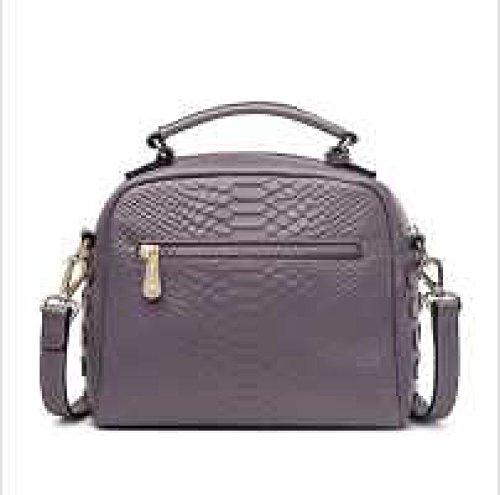 PACK Borse In Pelle Messenger Bag Packet Rivetti Mare Di Moda,TaroPurple TaroPurple