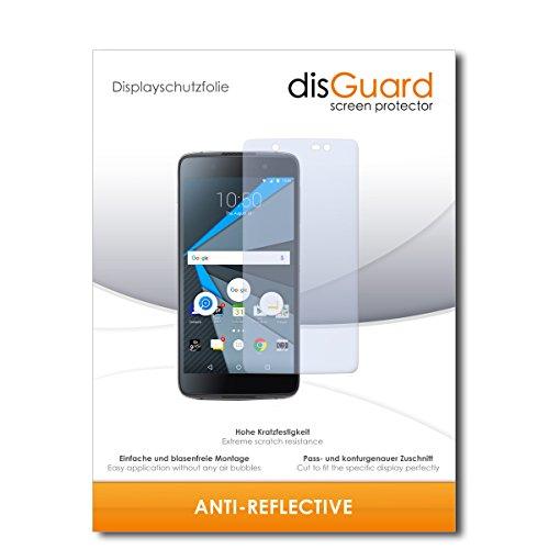 disGuard® Bildschirmschutzfolie [Anti-Reflex] kompatibel mit BlackBerry DTEK50 [3 Stück] Entspiegelnd, Matt, Antireflektierend, Extrem Kratzfest, Anti-Fingerabdruck - Panzerglas Folie, Schutzfolie